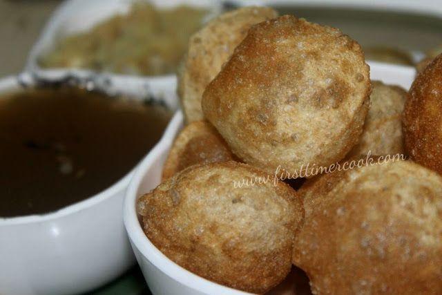 Puri for Golgappa / Puri for Panipuri / Puri for Puchka