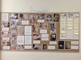 Our Rock Inquiry documentation board display! Created with the support of the students!  Inquiry places students' questions and ideas, r...