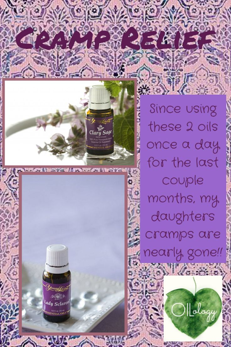 Young Living cramp relief  www.facebook.com/OILology