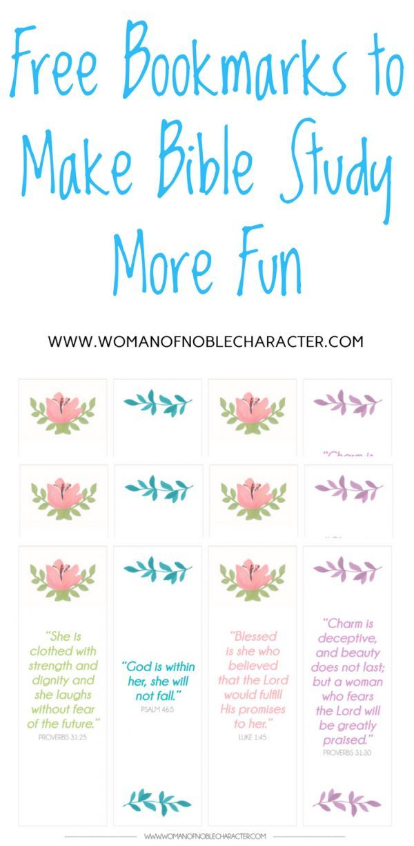 Bible verse bookmarks free download free printable | devotions ...