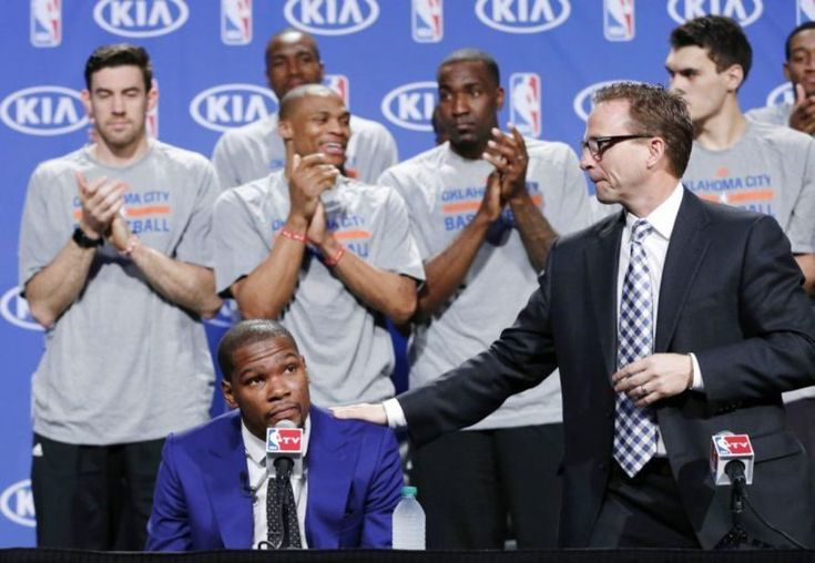 Kevin Durant set to face former coach Scott Brooks for the first time