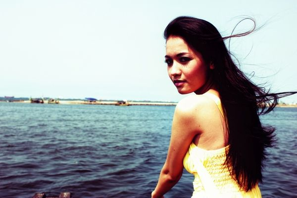 Photosession at Ancol. Model: Andien Wintari
