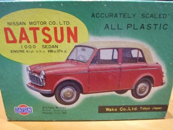 99 Best Model Car Box Art And Advertising Images On Pinterest