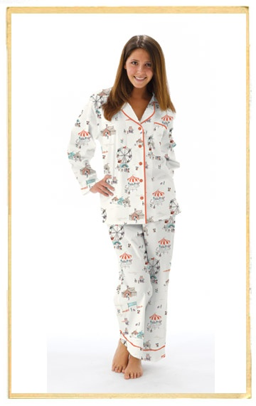 This Shirt Because I Was I Wear It As Pjs All The Time: Munki Munki Fairgrounds Pj Set