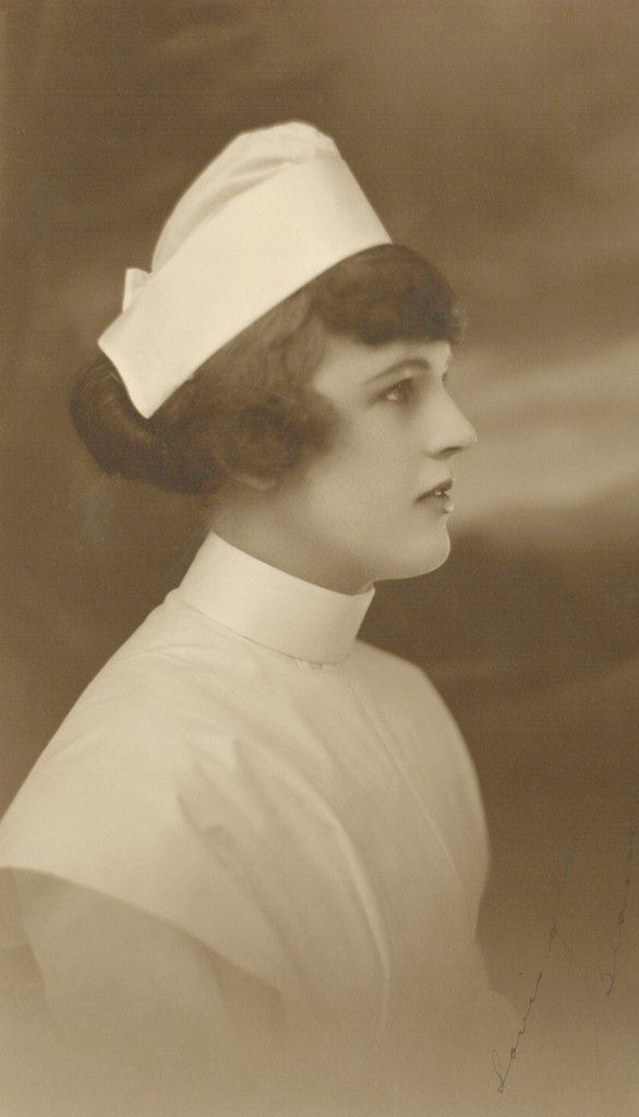 Cap is very similar to ours at Methodist Hospital School of Nursing in Philadelphia. Ours didn't puff up as much in front and had 4 pleats making a pretty ruffle at the bottom in back.