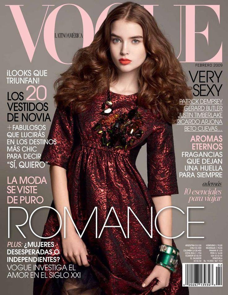Vogue Latino America - Vogue Latino America Cover Feb 2009