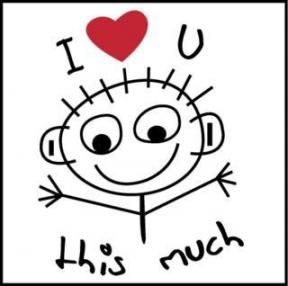 I love you this much!!