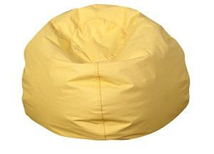 "CF610-048 35"""" Yellow Bean Bag"