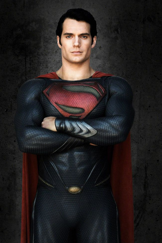 """Man of Steel"" star Henry Cavill is officially part of the superhero movie club"