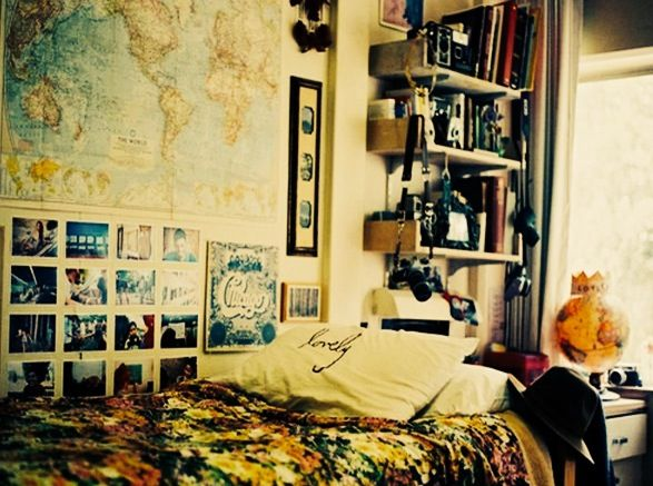 68 best TUMBLR   DECOR images on Pinterest   Bedroom ideas, Dream ...
