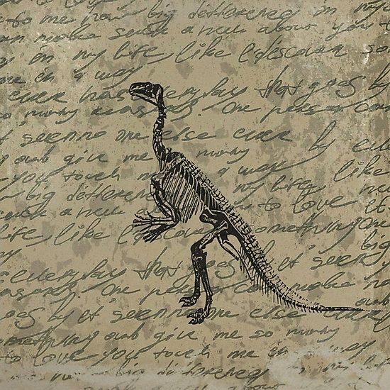 how to draw a dinosaur skeleton