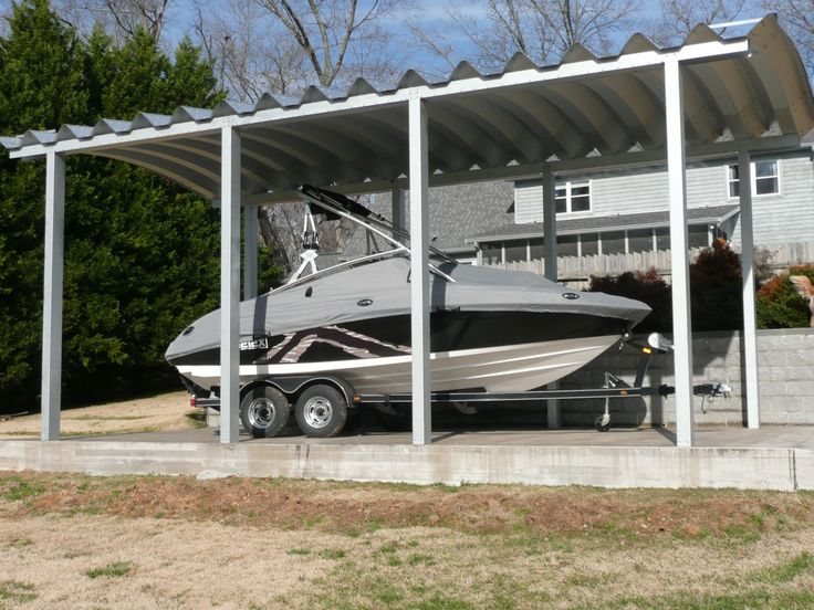 136 best images on pinterest quonset for Rv shed ideas
