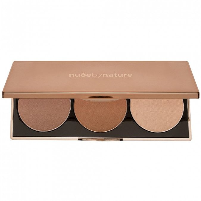 The perfect palette for easy contouring of the face.