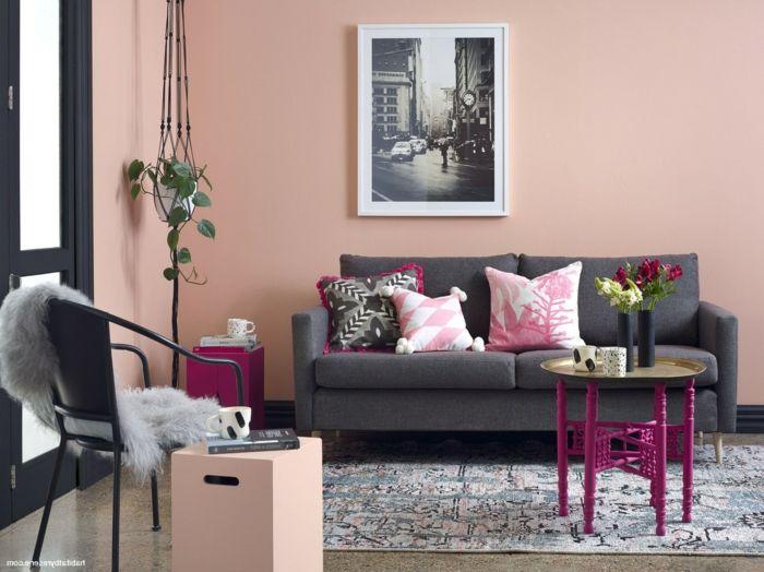 1001 Ideen Fur Altrosa Wandfarbe Zum Geniessen Altrosa Wandfarbe Wandfarbe Rosa Kissen