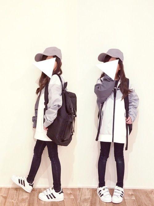 NIKEのナイロンジャケット「NIKE B NSW WINDRUNNER JKT HD【SP】」を使ったcyamu(͒⑅′࿉‵⑅)͒ෆ*のコーディネートです。WEARはモデル・俳優・ショップスタッフなどの着こなしをチェックできるファッションコーディネートサイトです。