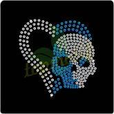 Skull Rhinestone Transfers