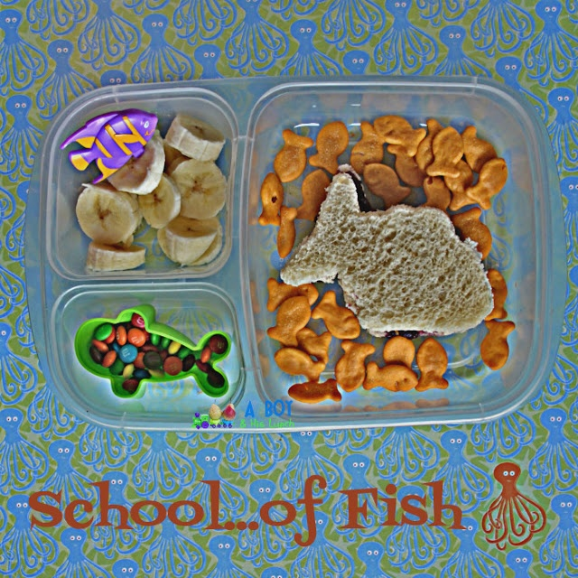 School of Fish lunch box