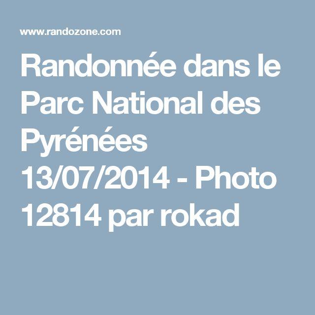 Randonnée dans le Parc National des Pyrénées 13/07/2014 - Photo 12814 par rokad