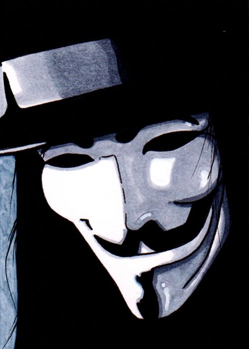 V for Vendetta Comic Art<<<<< Remember, remember the fifth of November. The gunpowder, treason, and plot. I see no reason why the gunpowder, treason, and plot should ever be forgot... It's the fifth of November...