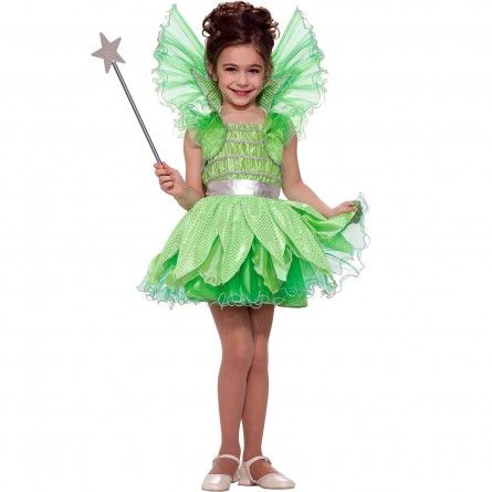 child green sprite fairy princess costume by forum novelties girls size large multi - Halloween Princess Costumes For Toddlers