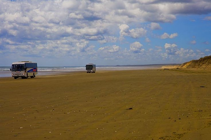 Ninety Mile Beach,  see more at New Zealand Journeys app for iPad www.gopix.co.nz