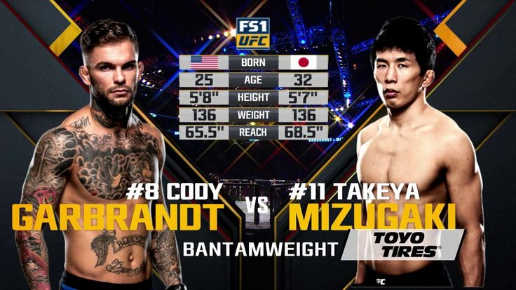 UFC 207 Free Fight: Cody Garbrandt vs Takeya Mizugaki