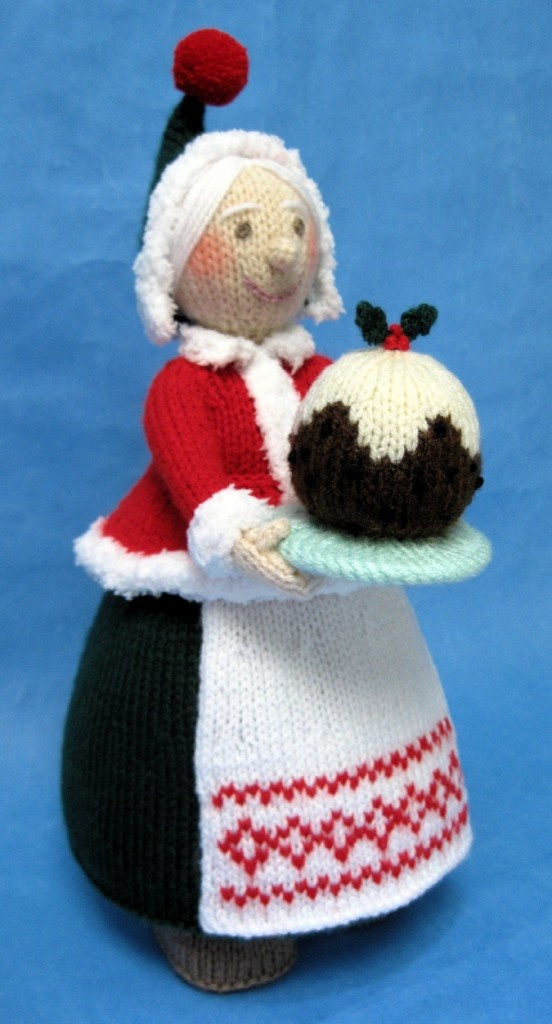 Alan Dart Knitting Mrs Claus