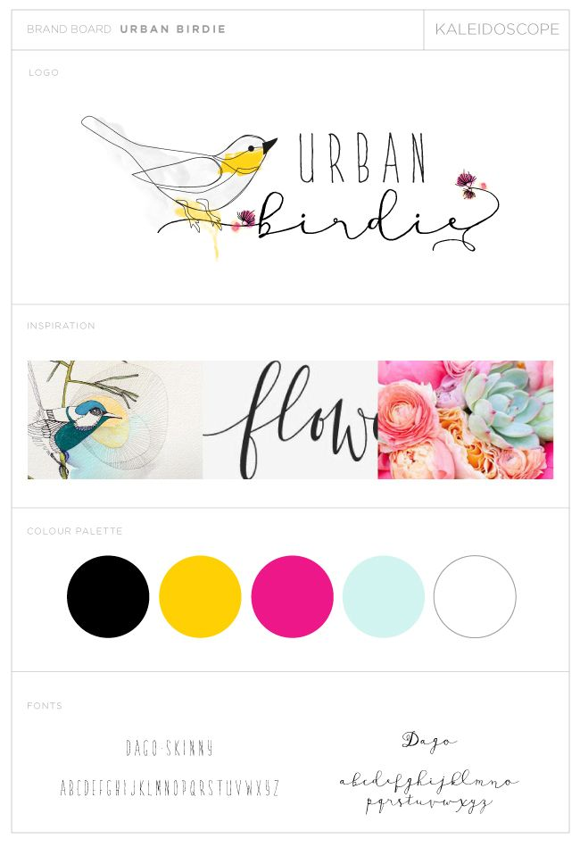 URBAN-BIRDIE-LOGO-DESIGN-Kaleidoscope Designs