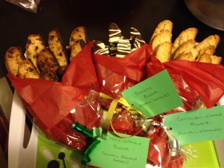 Biscotti christmas treats for work   Food   Pinterest