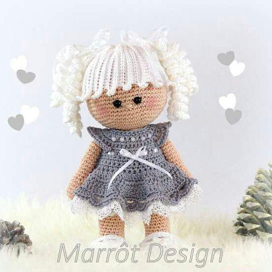 Sweet Noa doll amigurumi - Free Pattern