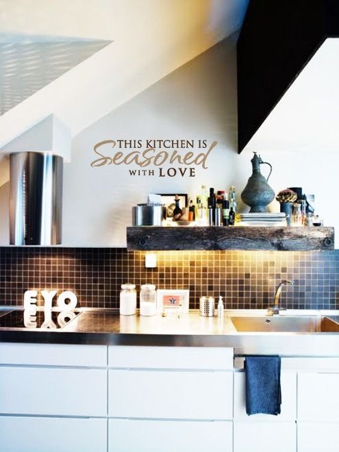 Kitchen Wall decals, Wall Quotes