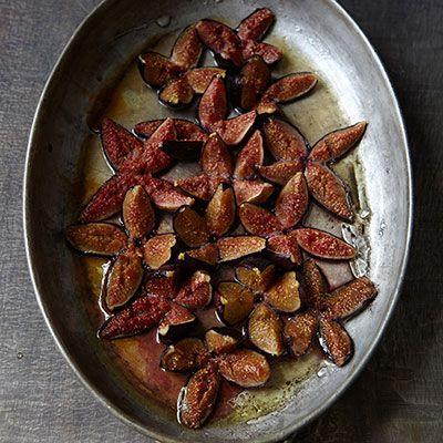 Honey-Baked Figs with Ice Cream - Fruit and Ice Cream Dessert Recipes - Delish.com