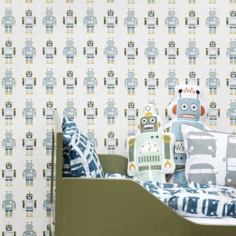 robot behang