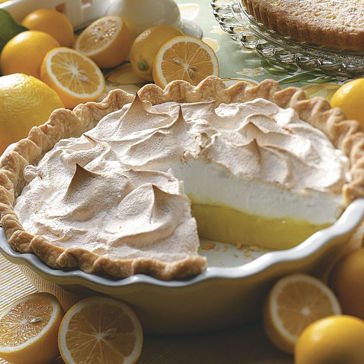 Classic Lemon Meringue Pie Recipe -This is the one and only lemon meringue pie recipe you'll ever need. The flaky and tender from-scratch crust is worth the effort. —Lee Bremson, Kansas City, Missouri