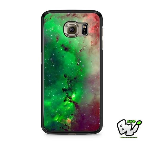 Red Green Galaxy Nebula Samsung Galaxy S7 Case