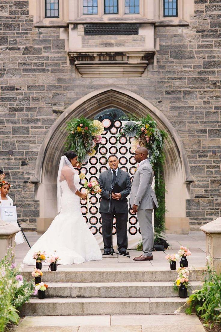 A Romantic Music Themed Wedding At The University Of Toronto