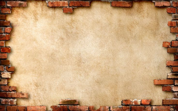 Wallpapers brick, wall, brown, background on your desktop — picture