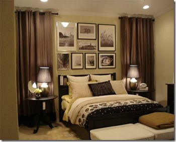 Best 25 Curtains behind bed ideas on Pinterest Curtain behind