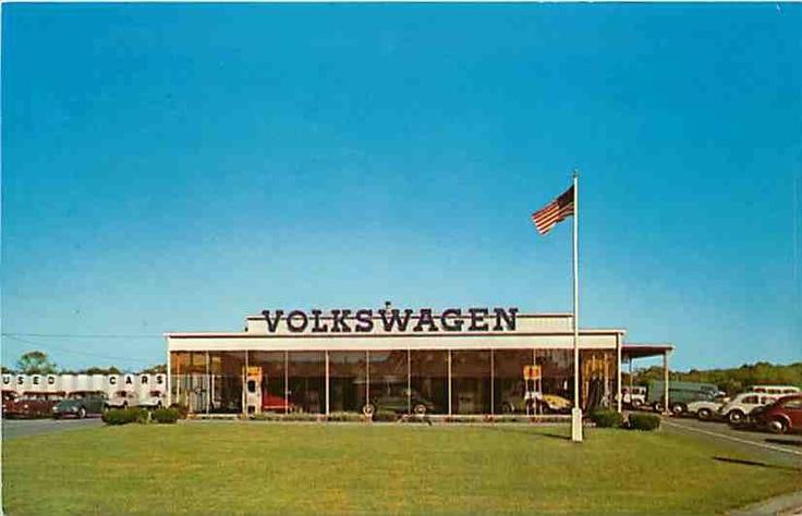 VW dealer Worcester court demolished in 2013.