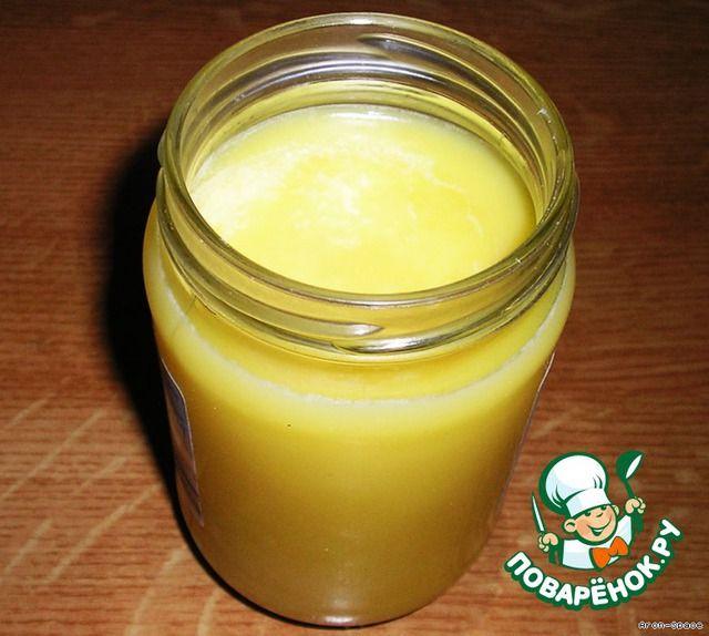"""Очищенное топлeное сливочное масло """"Гхи"""" ингредиенты"""