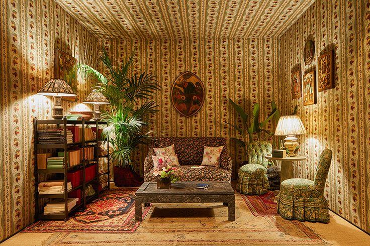 The Russian Living Room by Nathalie Farman-Farma: Corian Cabana Club, Milan Design Week 2017
