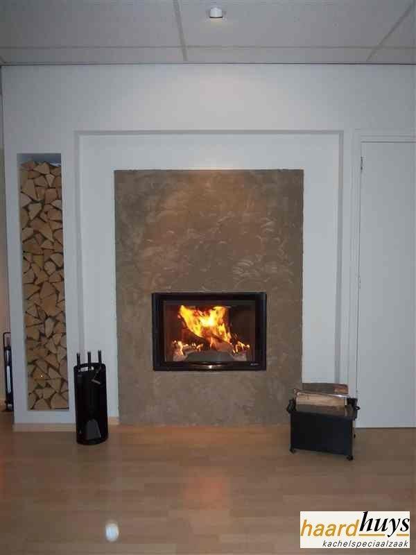 Hout CV inbouwhaard - Nordic-Fire