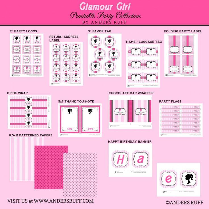 75 Best Barbie Party Images On Pinterest