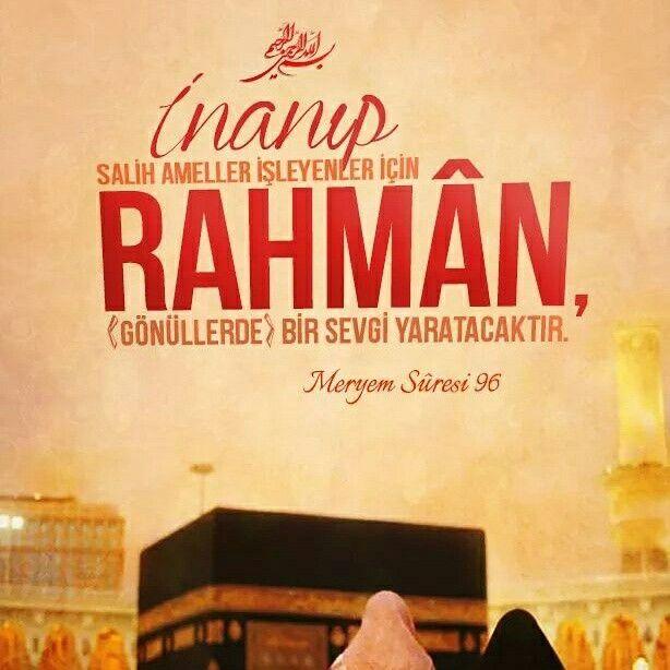 #inanç #yaşam #sağllam #iman #salih #amel #bir #sevgi #Allah  #ayet #meryem #suresi #türkiye #istanbul #rize #eyüp #ilmisuffa