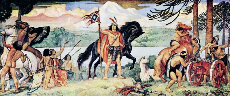 """ON THIS DAY IN HISTORY – On 23rd February, 1554 AD, Mapuche forces, under the leadership of Lautaro, scored a victory over the Spanish at the Battle of Marihueñu in Chile. Lautaro (""""swift hawk"""") was the young military commander of the Mapuche, the indigenous inhabitants of south-central Chile and south-western Argentina, in the four-year Araucanian War in Chile. His people undertook to expel the Spanish colonizers."""