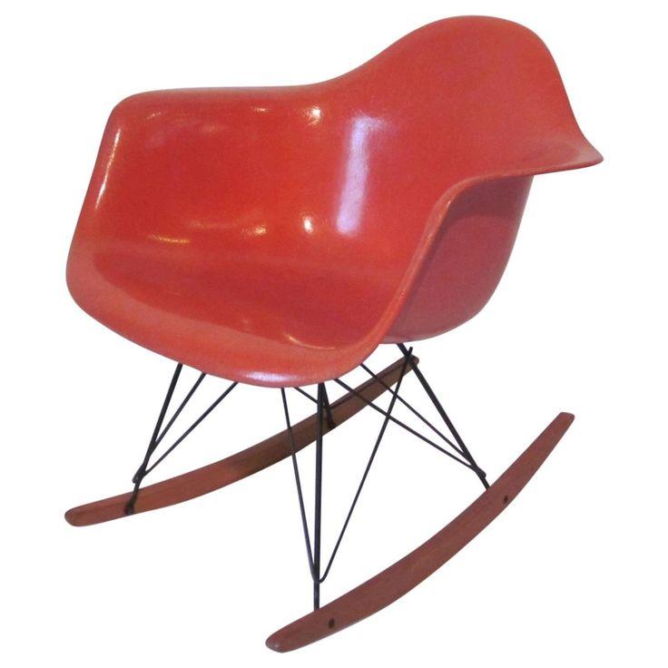 Vintage Eames Rocker For Herman Miller. Eames RockerModern Rocking ChairsVintage  ...