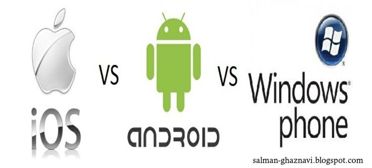 The most toughest competition between IOS ,Windows and Android. Who will be Winner? #salmanghaznavi , http://goo.gl/1TKcYO