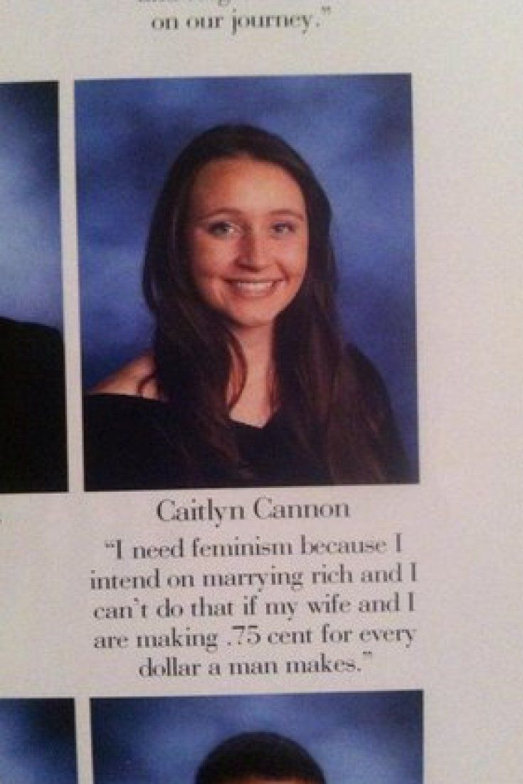 This Gay Teen Deserves An A+ For Her Feminist Yearbook Quote