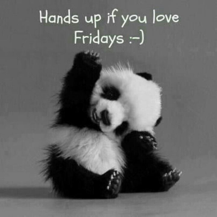 Hands up if you love Fridays!: