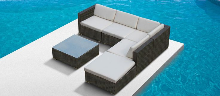 Outdoor sectional...definitly getting this for the backporch this summer. They have all different styles from 900-1200